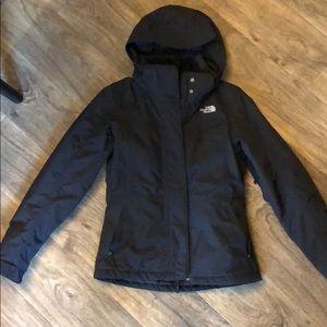 NorthFace Hooded Insulated Fleece Jacket. Size XS.